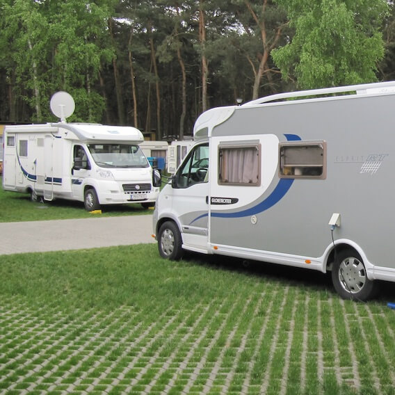 Area for Motor homes - Camping Gdańsk