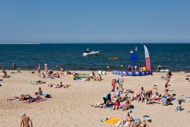 Plaża stogi - Gdańsk